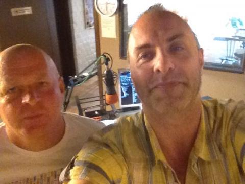 Rudy Gybels en Gerry Vermeylen