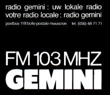 Radio Gemini Kortrijk FM 103
