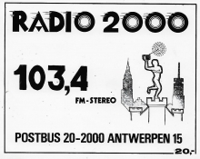 Radio 2000 Antwerpen