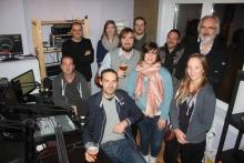 Het Radio Katanga team, oktober 2017